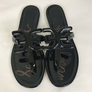 Sam Edelman Women's Black Cara Slide Sandals